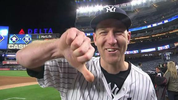 Frazier describes his weird swing on three-run homer
