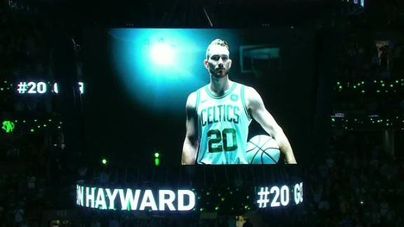 Hayward to fans: 'I'm gonna be alright'