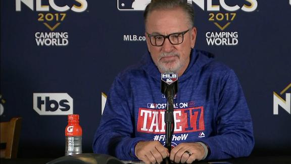 Maddon on eighth-inning foul ball: 'I can't buy that process'
