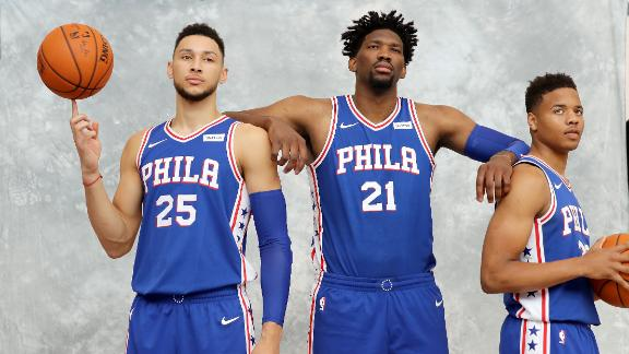Sixers trio inject promise to The Process