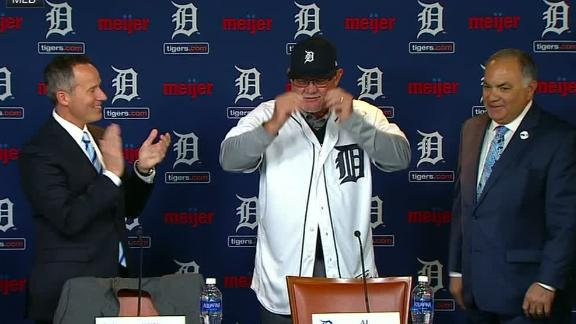 Gardenhire introduced as Tigers manager