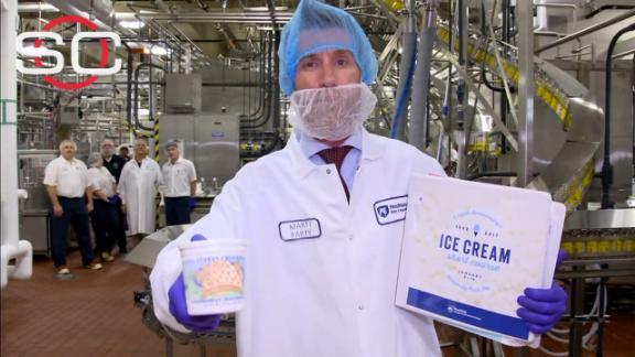 Marty visits the Penn State Berkey Creamery