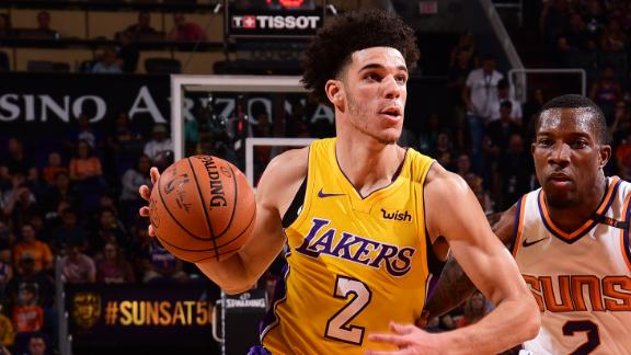 Lonzo takes control in Game 2