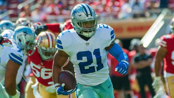 Elliott powers Cowboys past 49ers