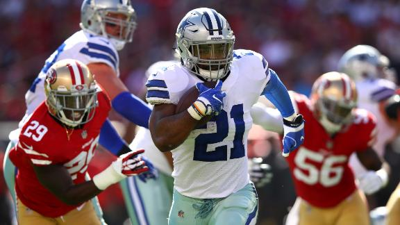 Zeke's 72-yard TD is history repeated