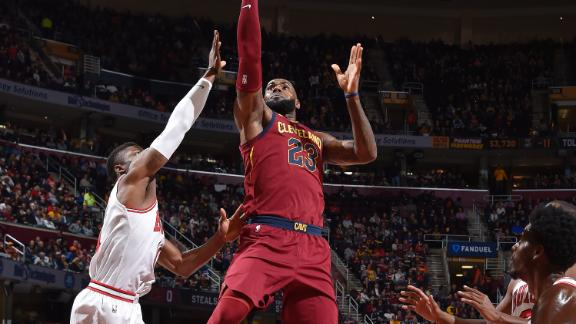 LeBron drops 34 in Cavaliers' win