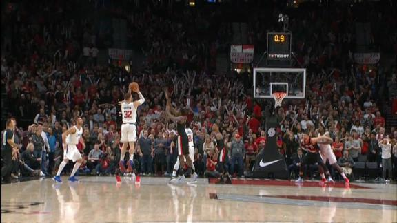 Griffin's game-winning 3 sinks Blazers