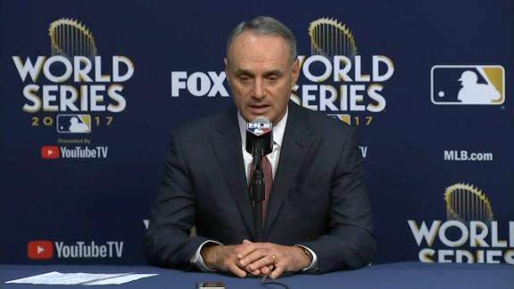 Manfred says Gurriel's suspension starts next season