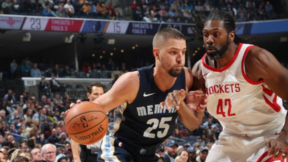 Grizzlies handle Rockets