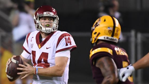 Darnold fuels USC's rout of Arizona State