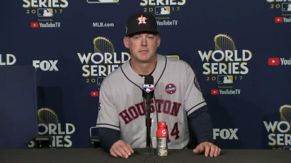 Hinch on Game 7: 'Come ready to play'