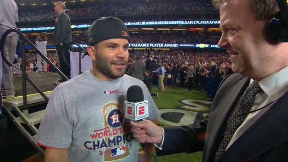 Altuve reflects on long road to title