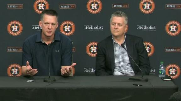 Hinch, Astros not allowing anything to polarize title win