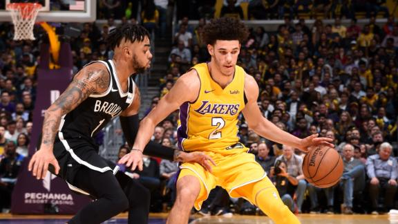 Lonzo facilitates a Lakers' win