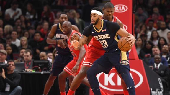 Davis sparks Pelicans' win over Bulls