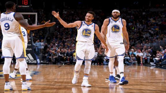 Warriors cruise to third straight win
