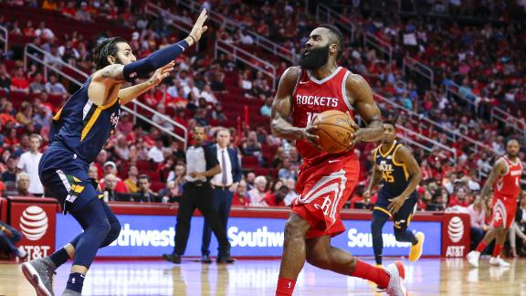 Harden's career night fuels Rockets to victory
