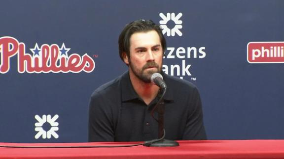 Hamels on Halladay: 'He means a lot to all of us'
