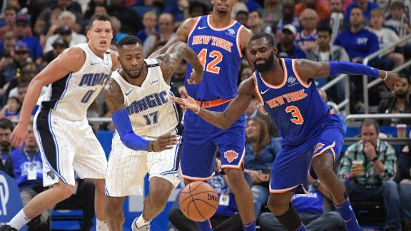 Knicks fall to Magic on the road