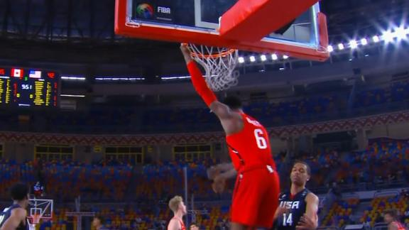 When R.J. Barrett dominated in 2017 FIBA U19 World Cup