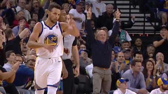 Curry, Thompson lead Warriors to victory