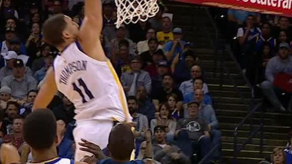 Thompson rises up to throw it down