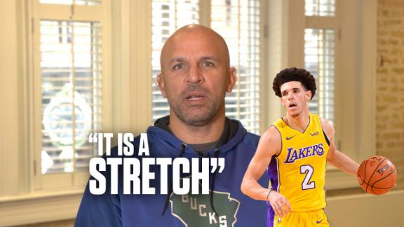 "Kidd: Lonzo needs to learn ""what it means to win"""