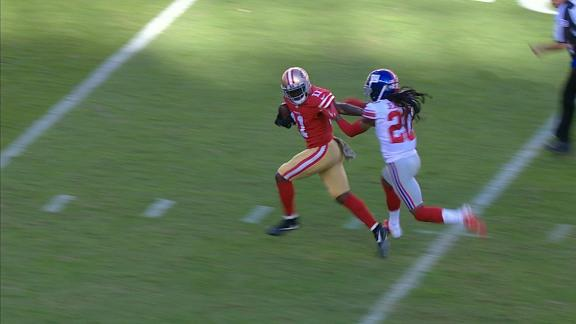 Goodwin burns Jenkins for long TD