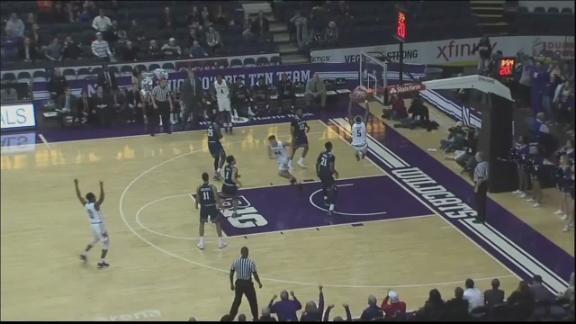 Pardon slams it home for Northwestern