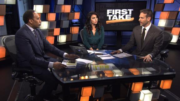 First Take supports Kaepernick as 'Citizen of the Year'