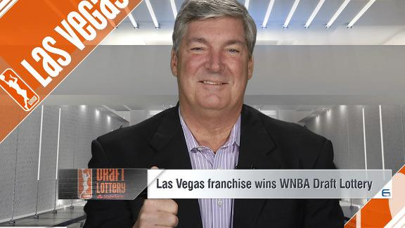 Las Vegas will receive top overall pick in WNBA draft