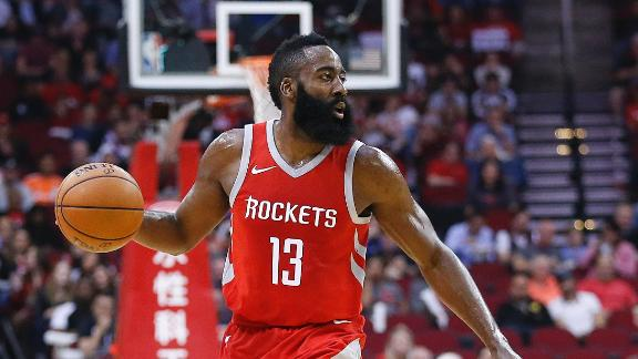 Harden puts on a show