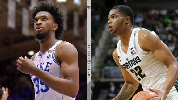 College powerhouses collide in Champions Classic