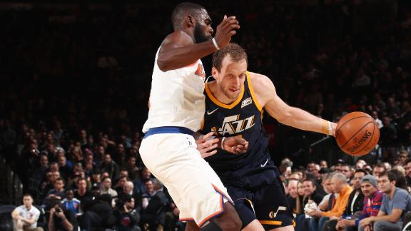 WATCH: Ingles finds three-point range at MSG