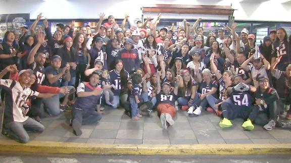 Pats fans in Mexico ready for gameday