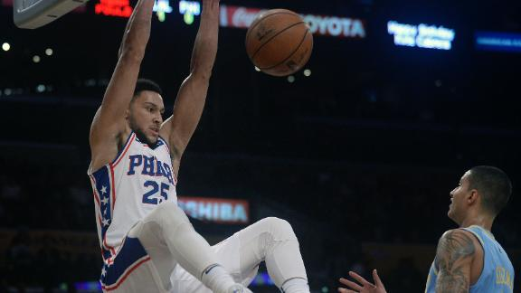 Simmons further in the process than Lonzo