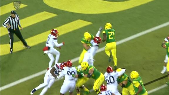Freeman rushes for TD