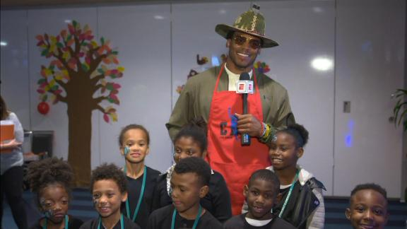 Cam gives back for the holidays