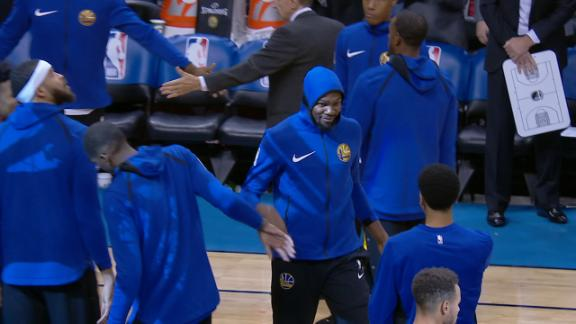OKC boos Durant during introduction