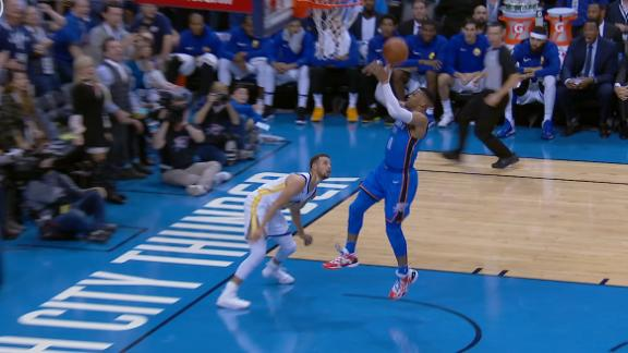 Westbrook earns back-to-back steals