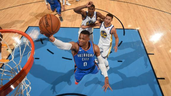 Thunder snap losing skid to Warriors