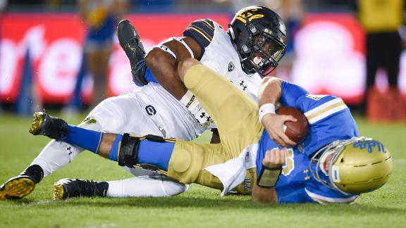 Rosen leaves early as UCLA edges Cal