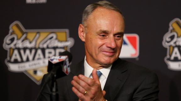 Manfred: 'It was important to send a message' in Braves' case