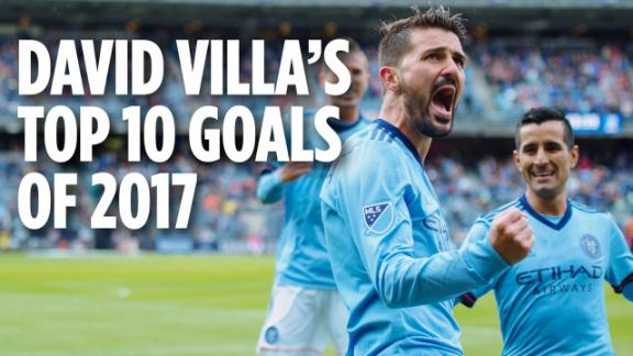 WATCH: David Villa's best of 2017 - Via NYCFC
