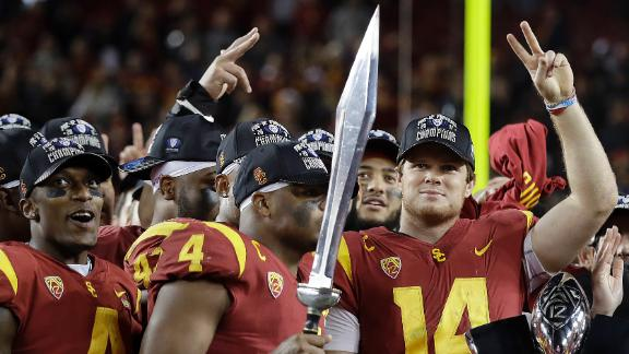 USC wins first Pac-12 title since 2008