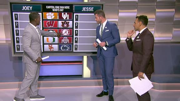 College Football Playoff ESPN expert picks