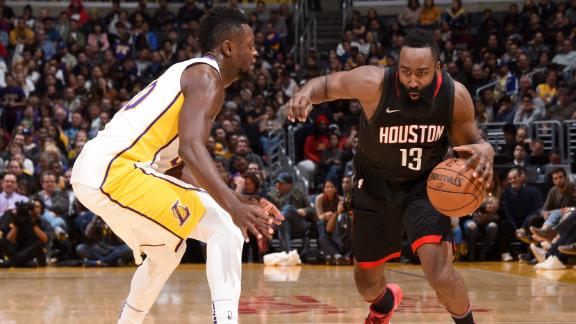 Harden's 36 keeps the Rockets hot