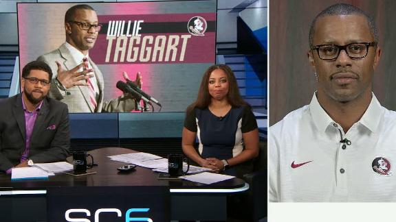 Taggart says it feels great to be FSU coach