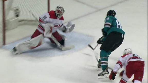 Pavelski sets up Burns for OT goal