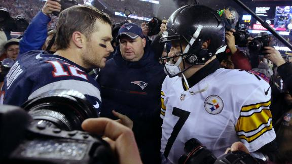 High stakes for Brady-Big Ben showdown